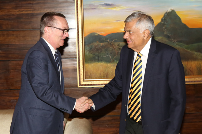PM meets with UN Under Secretary General for Political Affairs in Colombo