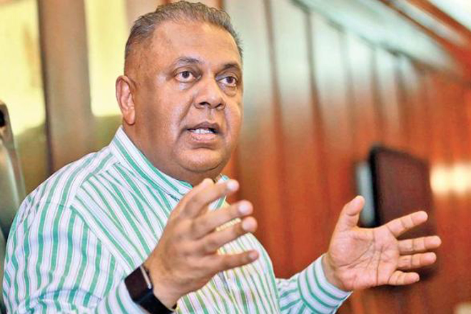 Sri Lanka FM interview ahead of IMF and WB annual meet on global trade, economy