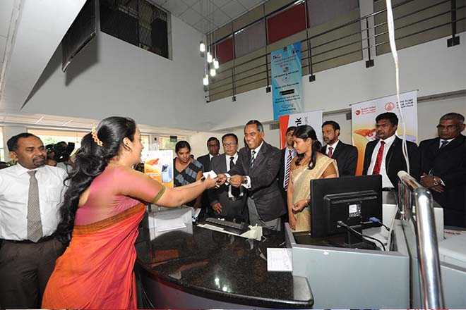 Sri Lanka post ushers money orders into the digital age with Sampath Bank