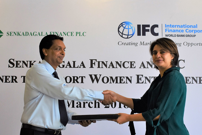 IFC invests USD15mn in Senkadagala Finance to help women entrepreneurs