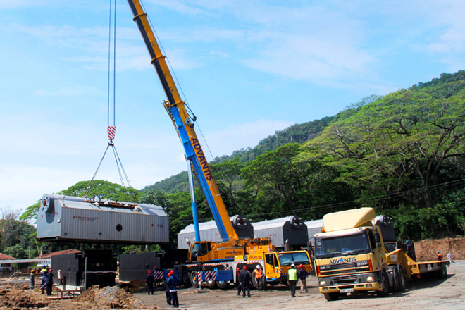 Advantis handles logistics for Sri Lanka's 1st 10MW Biomass power plant