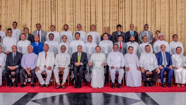 Sri Lanka president reshuffles cabinet