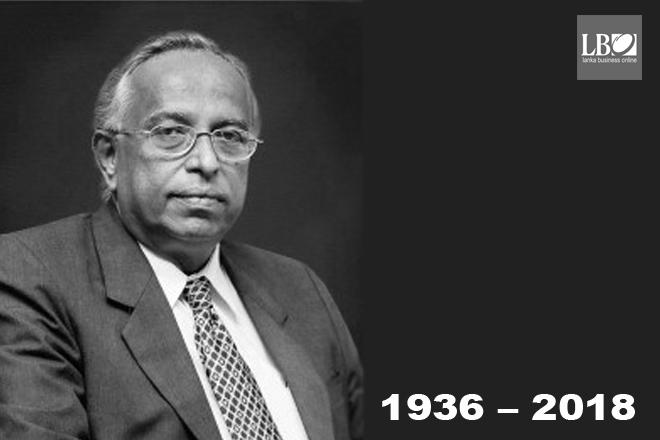 Deshamanya A S Jayawardena: The banker's banker