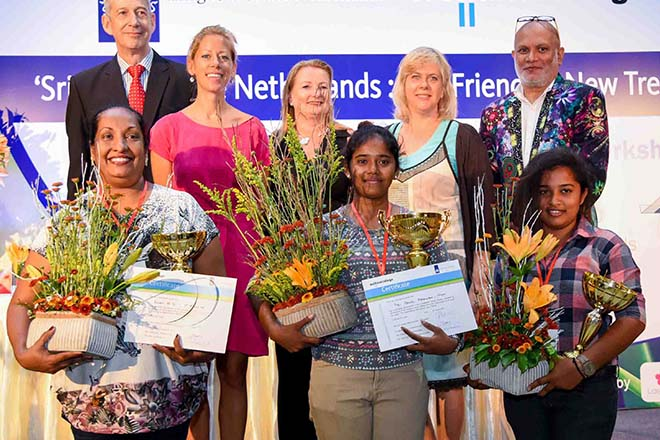 Netherlands Embassy hosts floriculture event at National Day celebrations