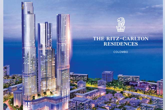 Sri Lanka's Ritz-Carlton Tower ready by 2021
