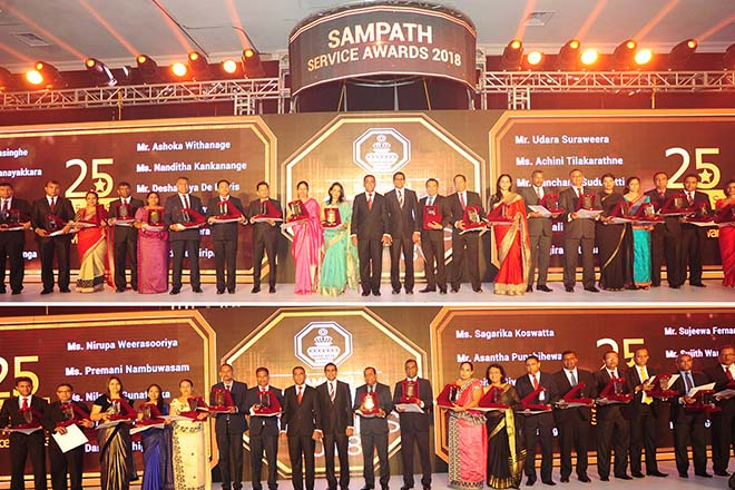 Sampath Bank Marches towards Vision 2020 with Sampath Stars