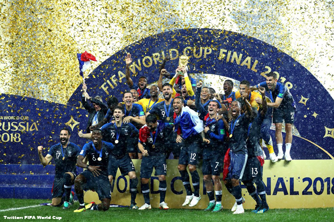 France beat Croatia 4-2 to secure second FIFA World Cup title