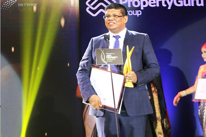 Blue Ocean Group wins multiple awards at Asia Property Awards 2018 in Sri Lanka