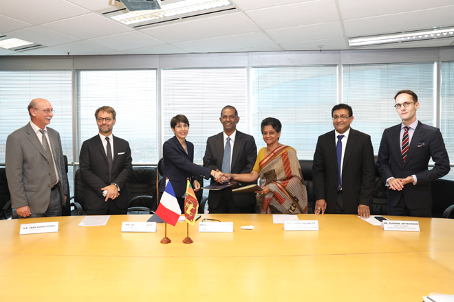 Tripartite MOU signed between BOI, EDB & Business France to enhance trade