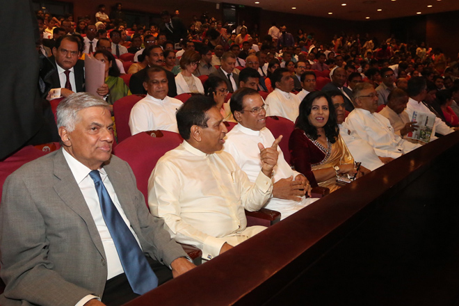 Felicitation ceremony for Minister Rajitha after appointed as a Vice President of WHO