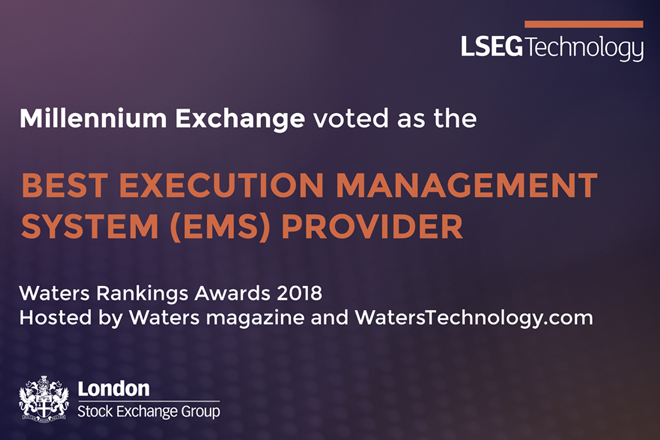 LSEG Technology voted Best Execution Management System Provider