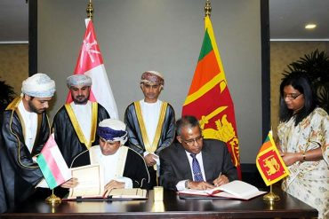 Sri Lanka, Oman sign agreement on avoidance of double taxation and prevention of fiscal evasion