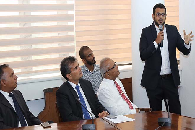 STAX presents research on investment and FTA potential at SL-Singapore business council