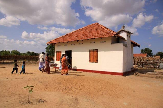 UK helps Sri Lanka to resettle 2,500 people in recently released lands in North & East