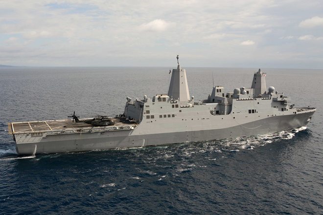 US warship arrived in Trinco, location to be tested for air logistics hub concept