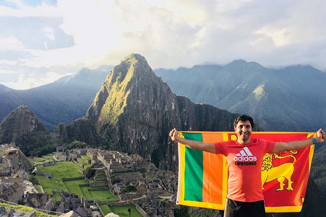 Interview : Hassan Esufally, first Sri Lankan to complete the 'Inca Trail Marathon'