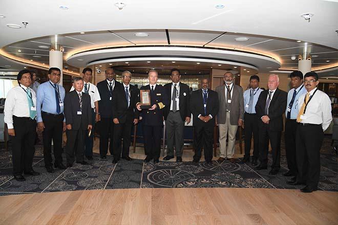 Super luxury MV Viking Orion calls at Sri Lanka's Colombo port