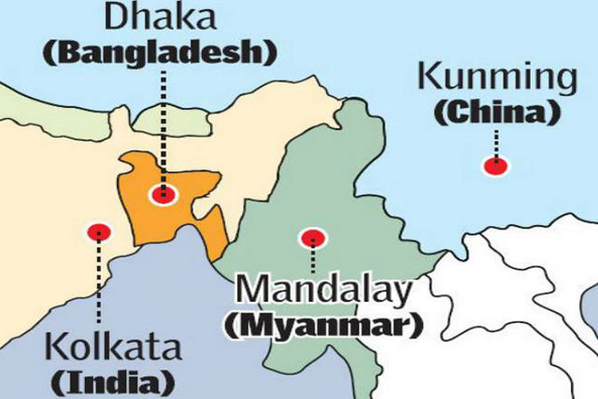China plans high speed train to India via Bangladesh and Myanmar