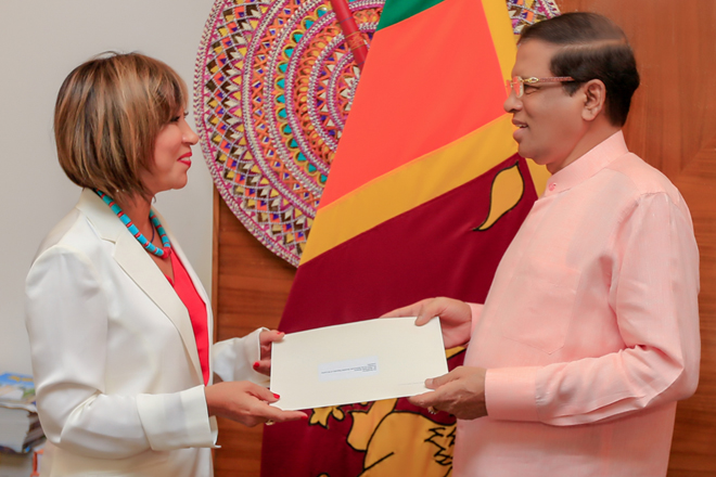 Hanaa Singer assumes duties as UN Resident Coordinator in Sri Lanka