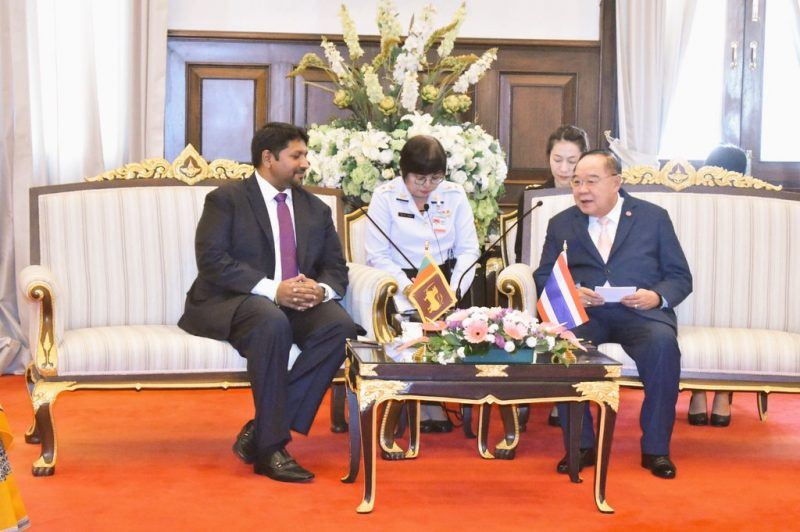 Ruwan Wijewardene explores Thai military's shipbuilding operations, meets with Deputy PM