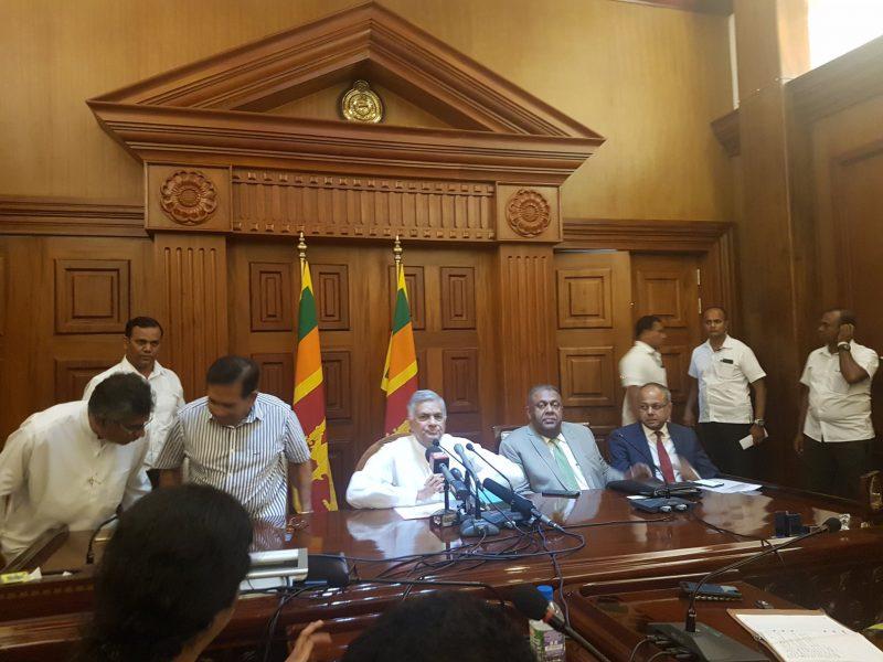 Majority of Parliamentarians want Speaker to reconvene the house – Ranil