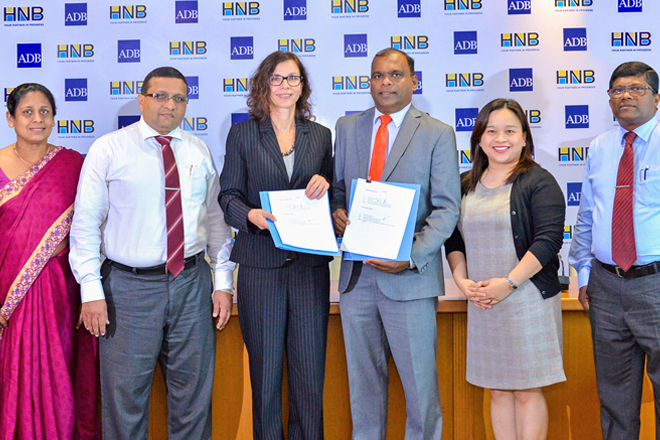 ADB & HNB ink USD20Mn agreement to strengthen microfinance institutions
