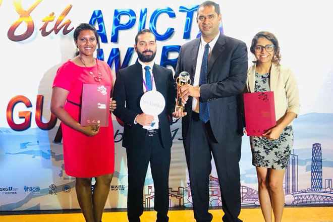 Two Sri Lankan Fintech startups win gold & merit at Asia Pacific ICT Alliance awards