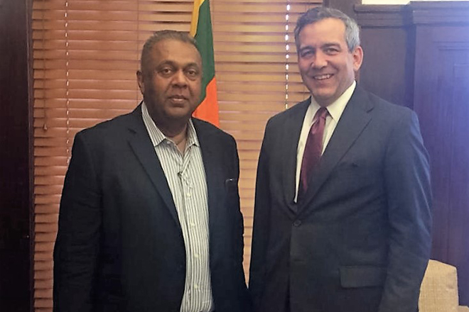 Vice President of OPIC visits Sri Lanka; aims to counter debt-trap investments