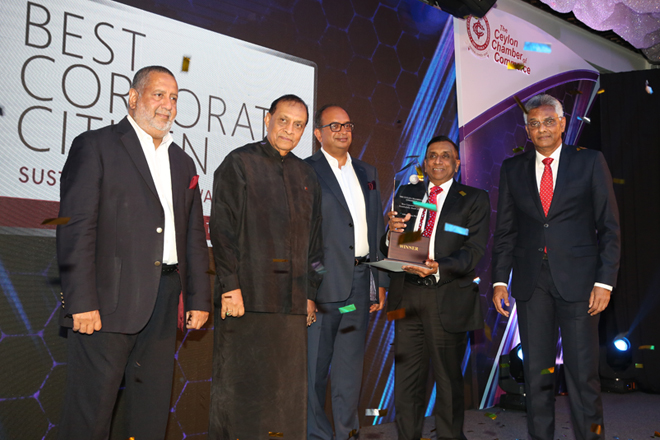 Aitken Spence wins Best Corporate Citizen Sustainability Award 2018