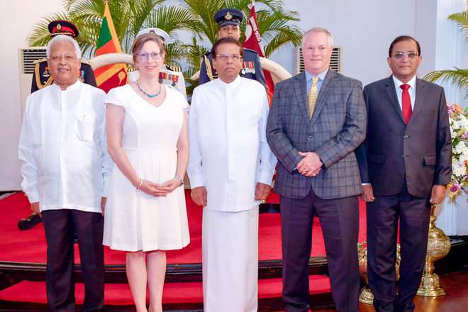 I'm honored to serve as US Ambassador to Sri Lanka at this critical moment: Teplitz