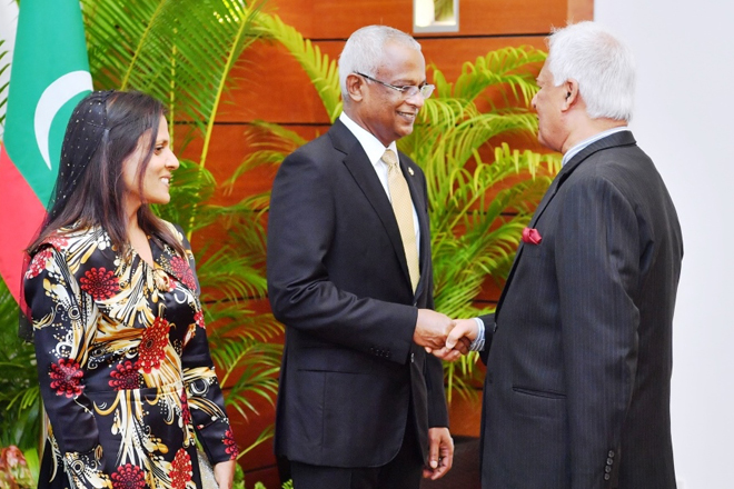 Foreign Minister attends swearing-in ceremony of Maldives President