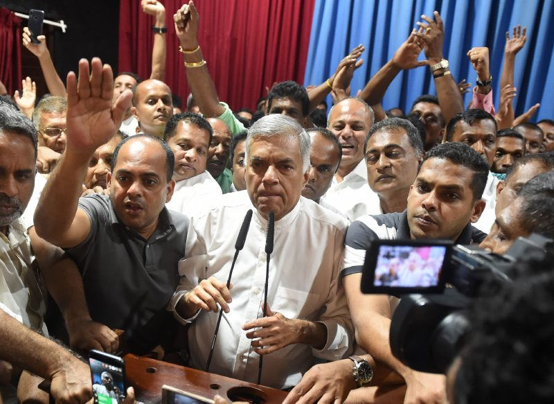 Opinion: Ranil Wickremesinghe is fighting the good fight, and he will win it