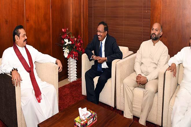 Anura Priyadharshana Yapa assumed duties as State Minister of Finance