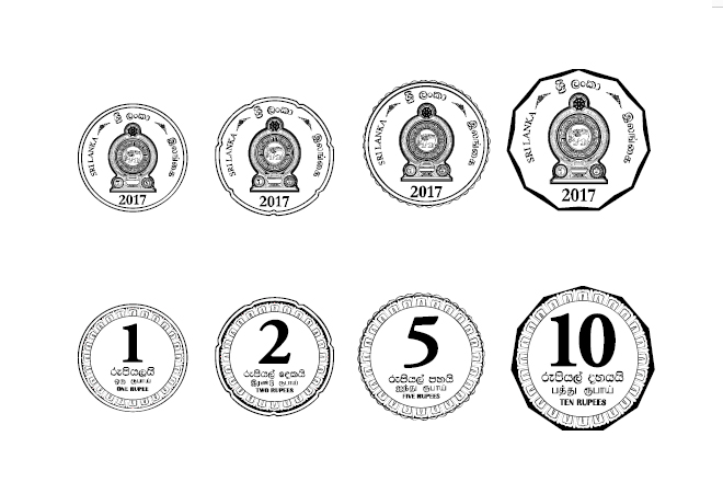 Opening of a counter to issue coins to general public