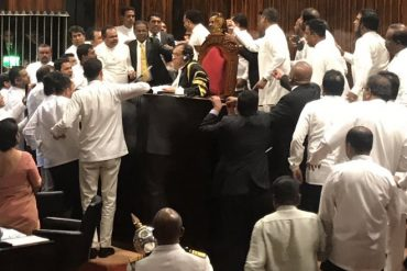 Sri Lanka Parliament adjourns; political crisis turns into a deadlock