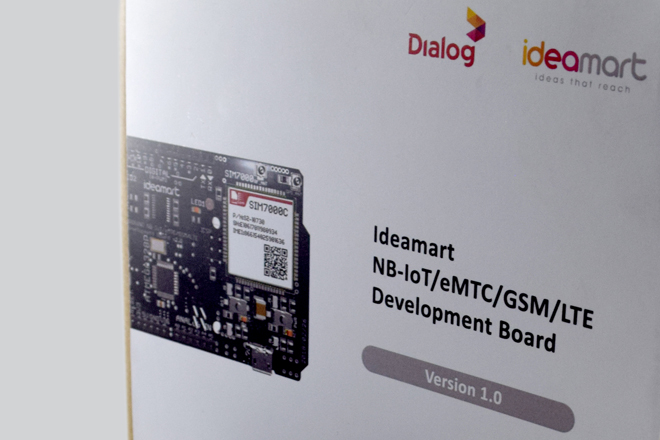Dialog & Ideamart launch NB-IoT Development Board to accelerate innovations