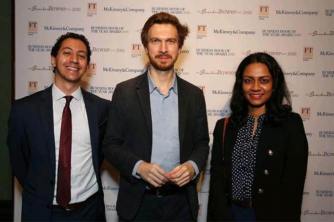 STAX Head of Research reaches the finals of Bracken Bower Prize