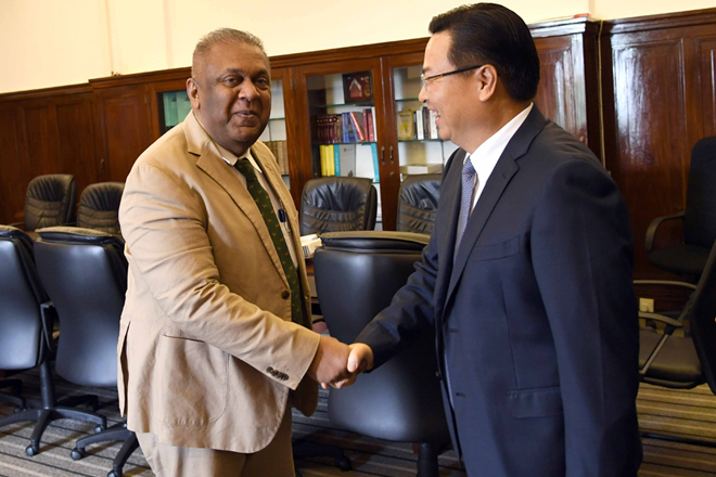 Chinese Ambassador reiterates support to develop Sri Lanka economy
