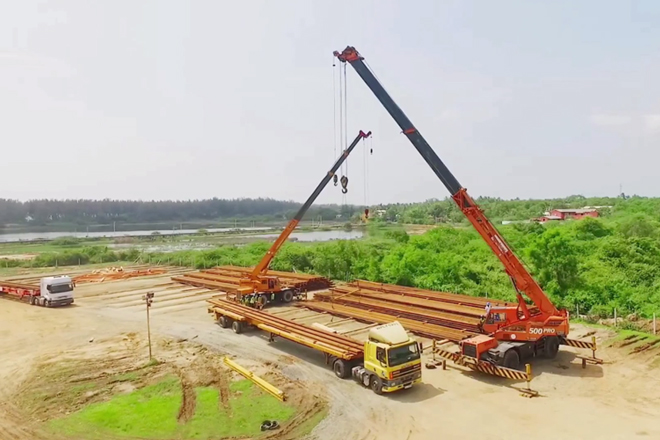 Advantis Projects marks completion of logistics for Matara-Beliatta Railway Line
