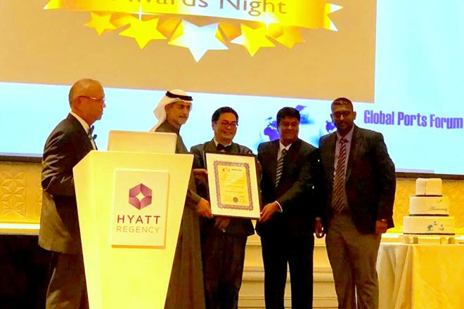 SLPA wins second consecutive GPF Ports Authority of the Year award