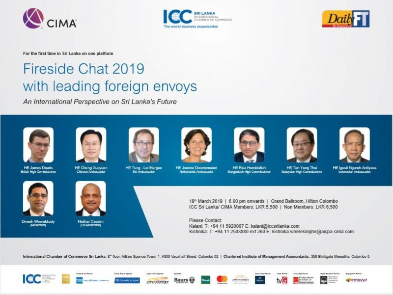 Diplomats wax eloquent at DailyFT Fireside Chat