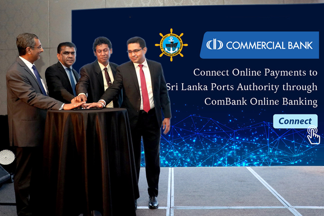 ComBank adds Sri Lanka Ports Authority to its Online Banking Platform