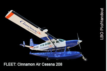 Cinnamon Air Cessna 208 aircraft   - Lanka Business Online
