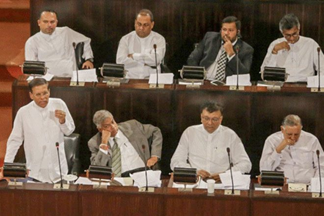 Sri Lanka's President to present 20A at all party representatives' meeting Monday