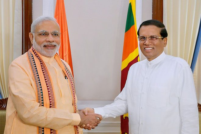 Modi to visit Sri Lanka on Sunday, 9th June