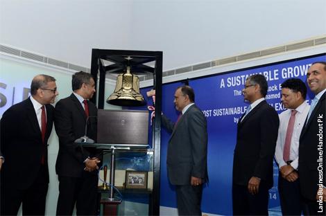 Sri Lanka stocks close up 1.4-pct; JKH rings the opening bell