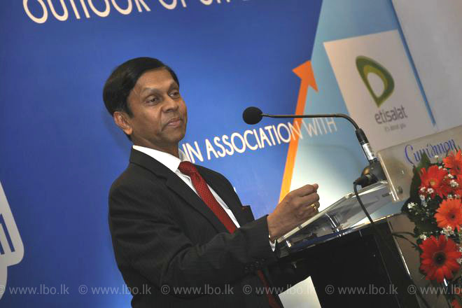 Sri Lanka's growth rate in past two years disturbed after GDP rebasing: Nivard Cabraal