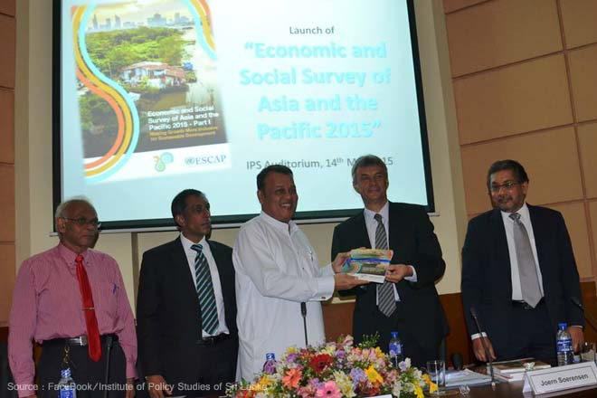 Sri Lanka's economic growth to remain at 7.5-pct in 2015: ESCAP