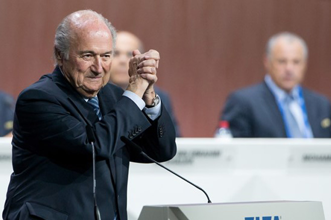 FIFA President Blatter re-elected to a fifth term despite corruption allegations