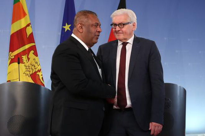 Sri Lanka FM meets German Foreign Minister; extends invitation to visit Sri Lanka
